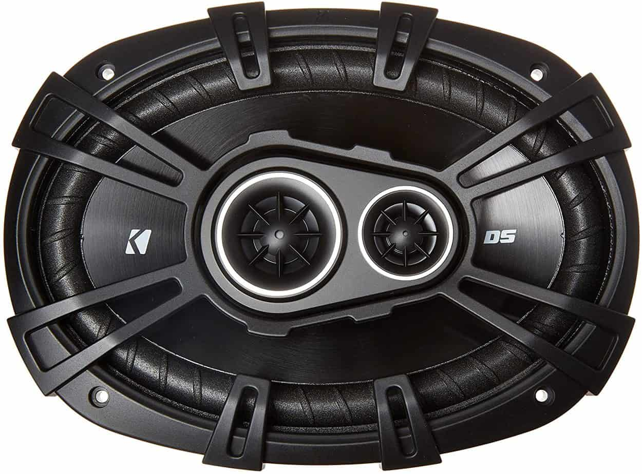 Kicker 43DSC69304 D-Series 6×9 3-Way Coaxial Speakers