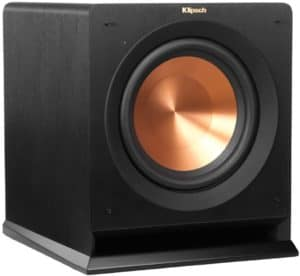 Klipsch R-110SW Subwoofer-best subwoofers under 500