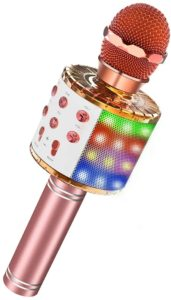 LET'S GO LED Lights Wireless Handheld Microphone