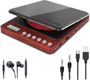 Monodeal Portable CD Player Compact In Size And Easy To Use