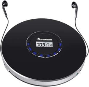 Naviskauto Portable Compact CD Player For Adults