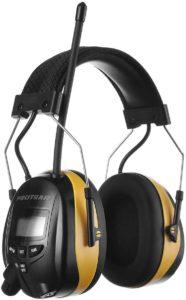 PORTEAR AM FM Radio Headphones