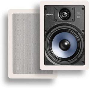 Polk Audio in-wall speakers