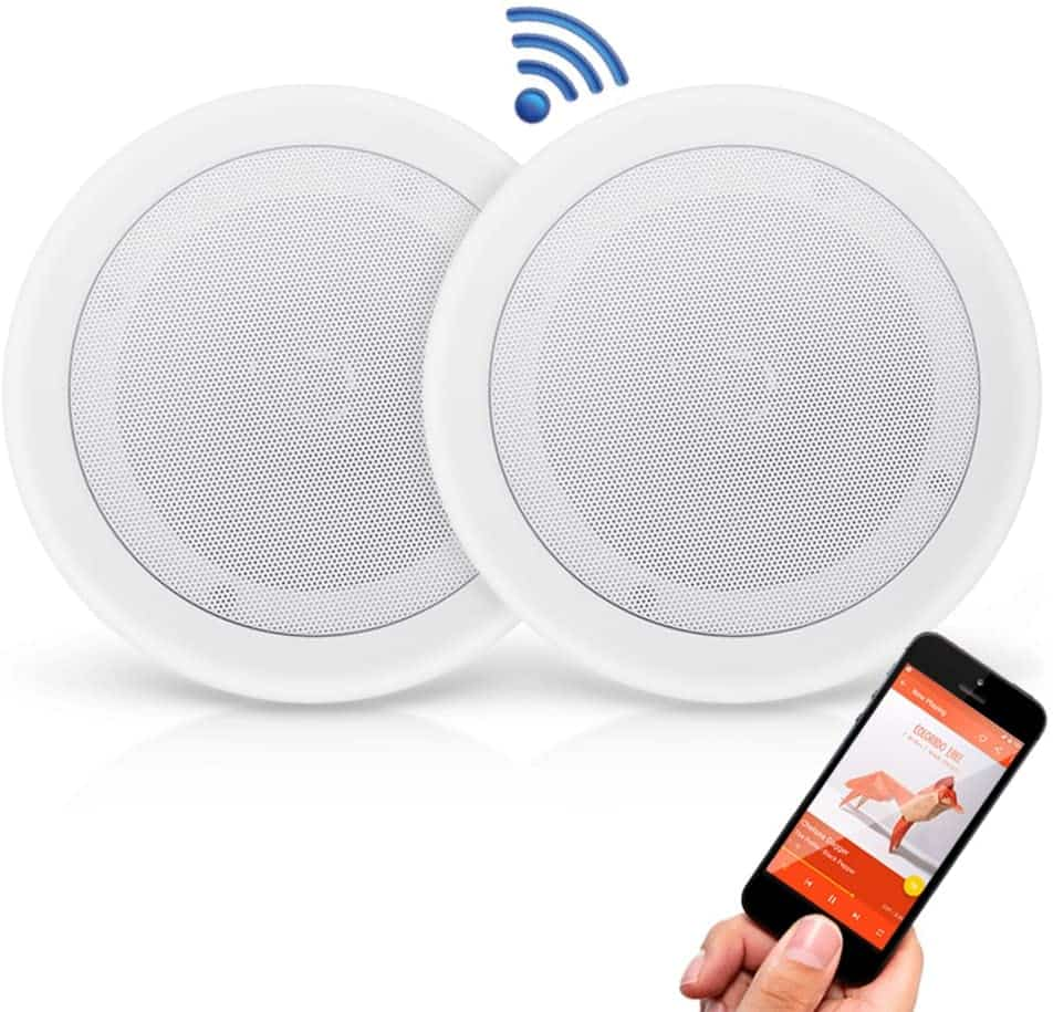 Pyle Pair Bluetooth Ceiling Speakers