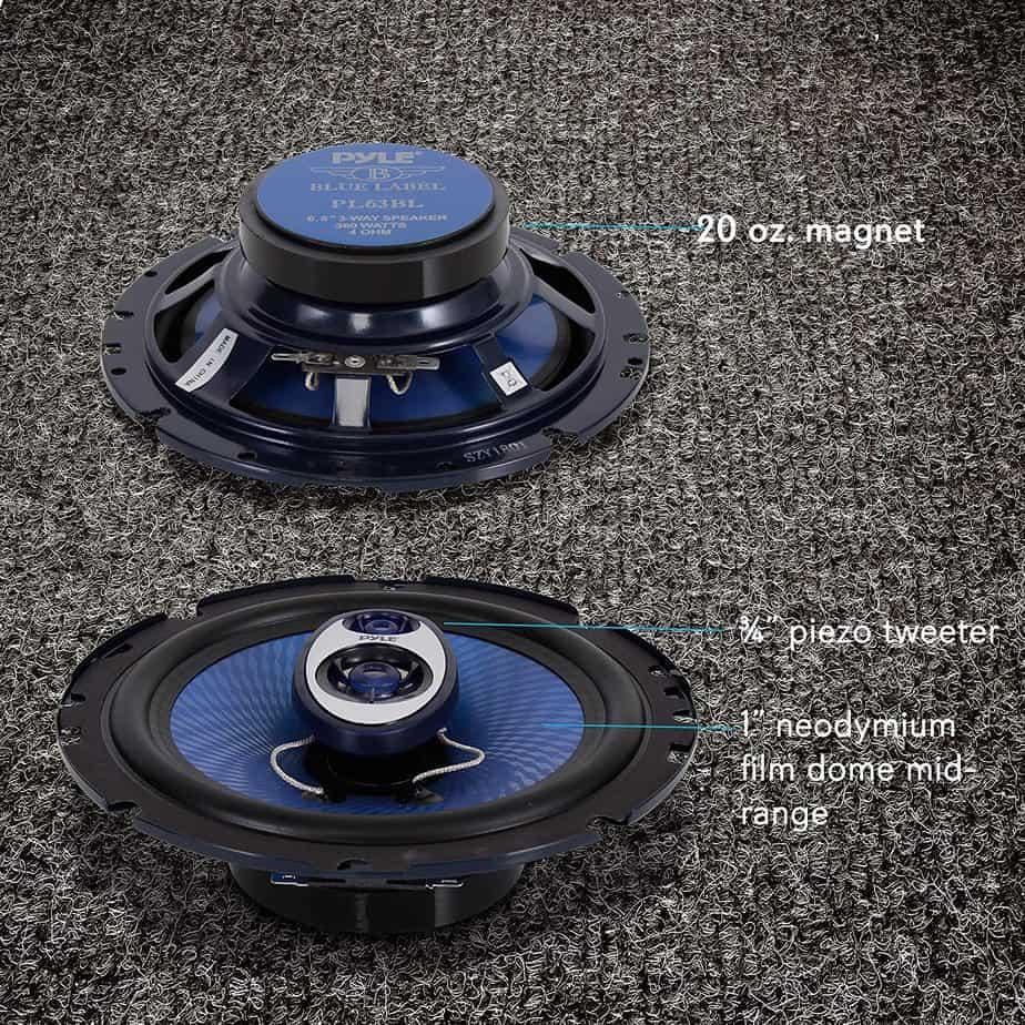Pyle Store 6.5 Inch Three Way Sound Speaker System