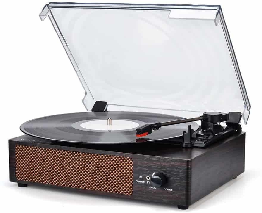 Record Player Turntable Wireless Portable LP Phonograph