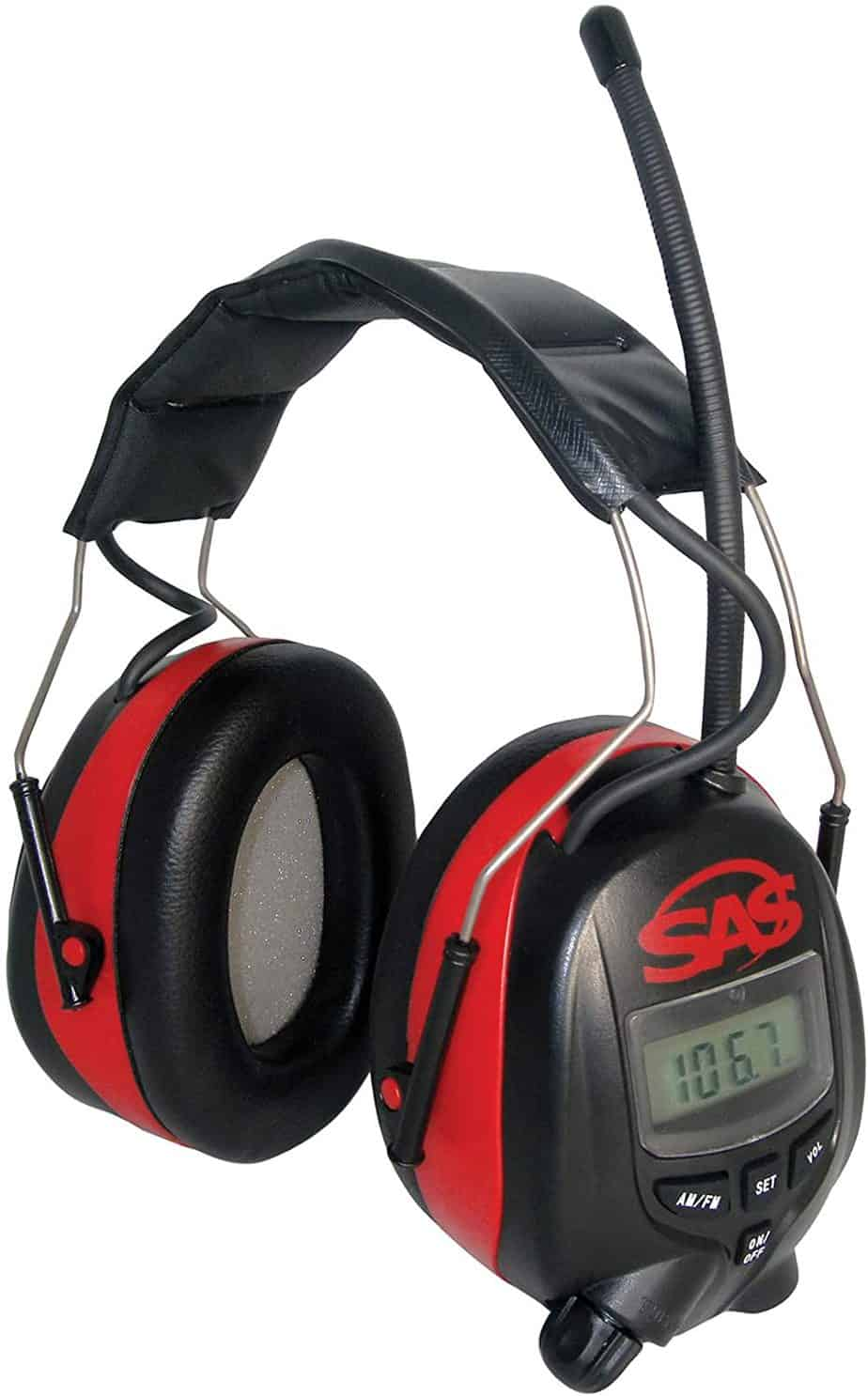 SAS safety digital radio earmuffs-best am FM radio headphones
