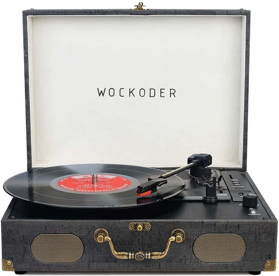 Turntable Record Player Portable Wireless