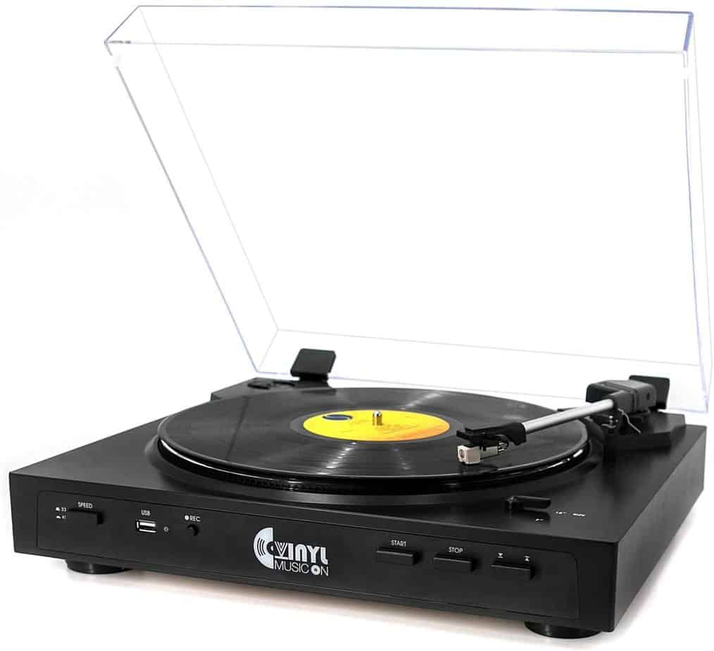 Vinyl Fully Automatic Turntable