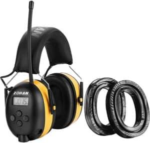 Zohan am/FM radio headphones