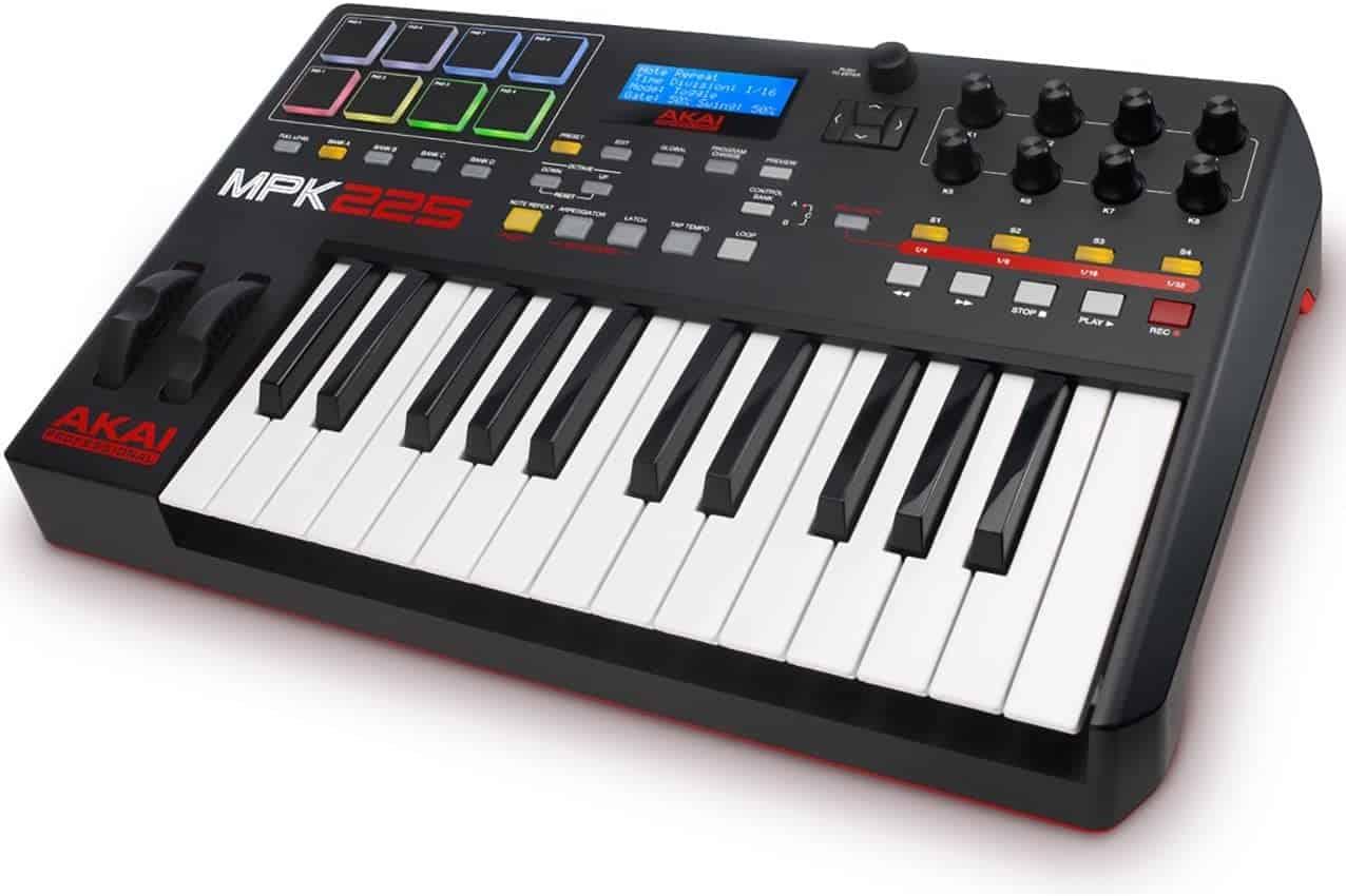 Akai MPK225 Midi Keyboard