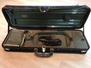 Musafia Luxury Ultralight Oblong 4/4 Violin Case