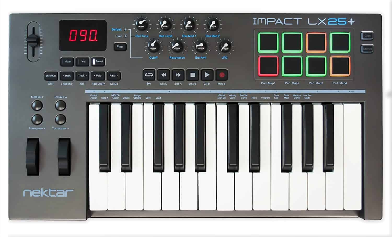 Nektar Midi Keyboard