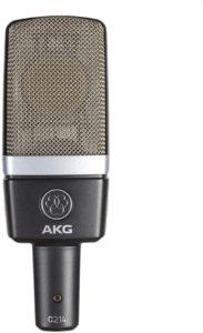 AKG C214 large-diaphragm condenser microphone