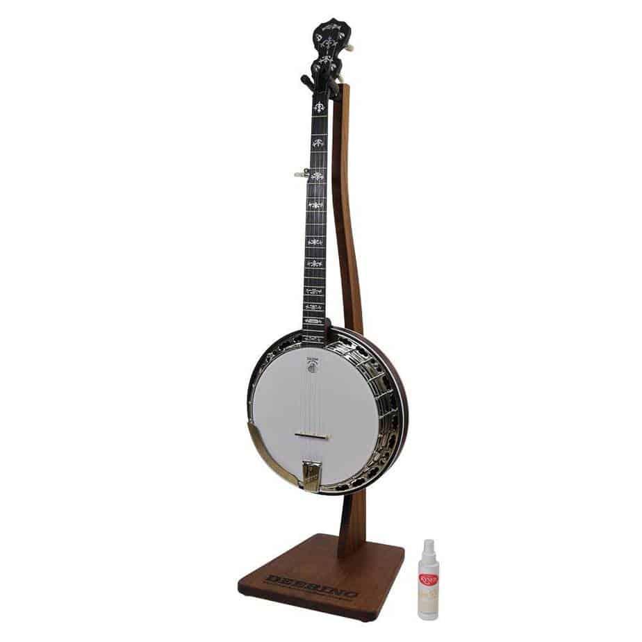 Deering Mahogany Banjo Stand