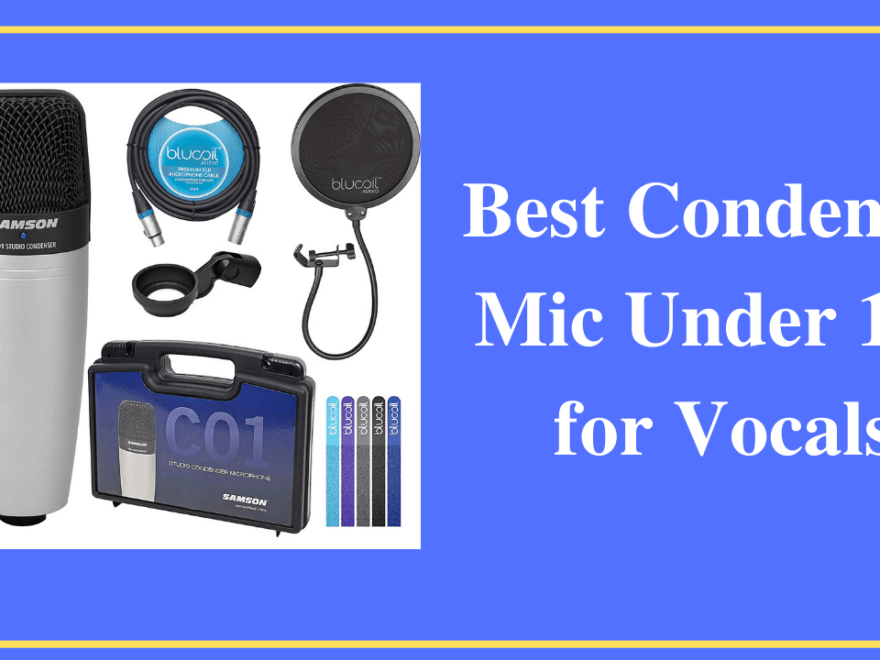Best Condenser Mic Under 100 for Vocals 178