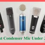 6 Best Condenser Mic Under 300