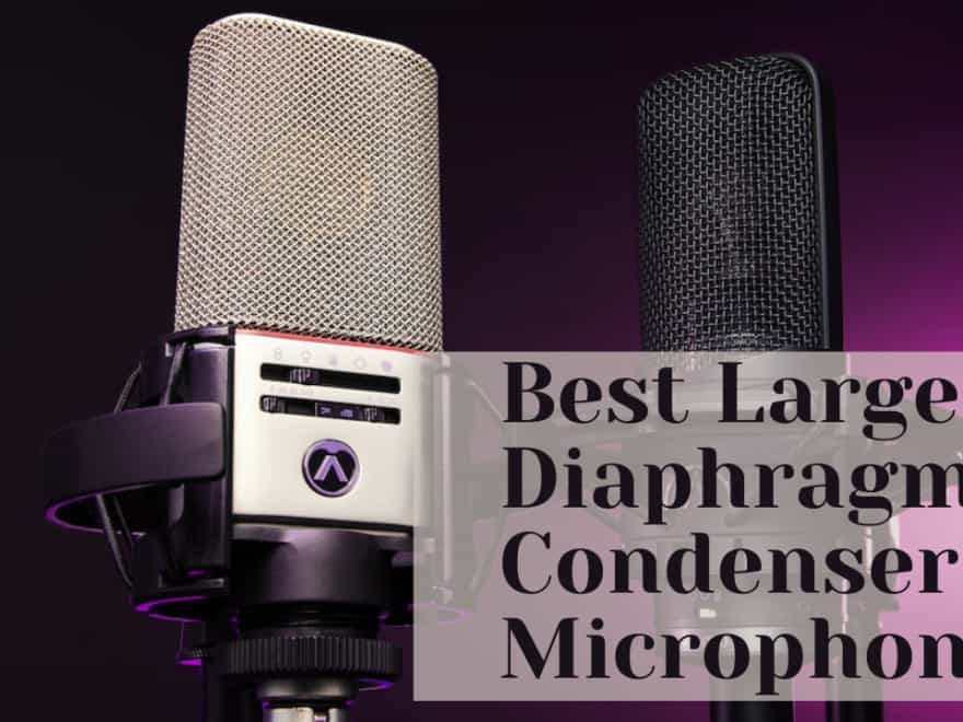 Best Large Diaphragm Condenser Microphone