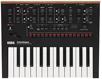 Best synthesizers for bass – Korg Monologue