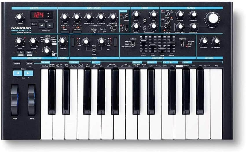 Best synthesizers for hip hop – Novation bass station II