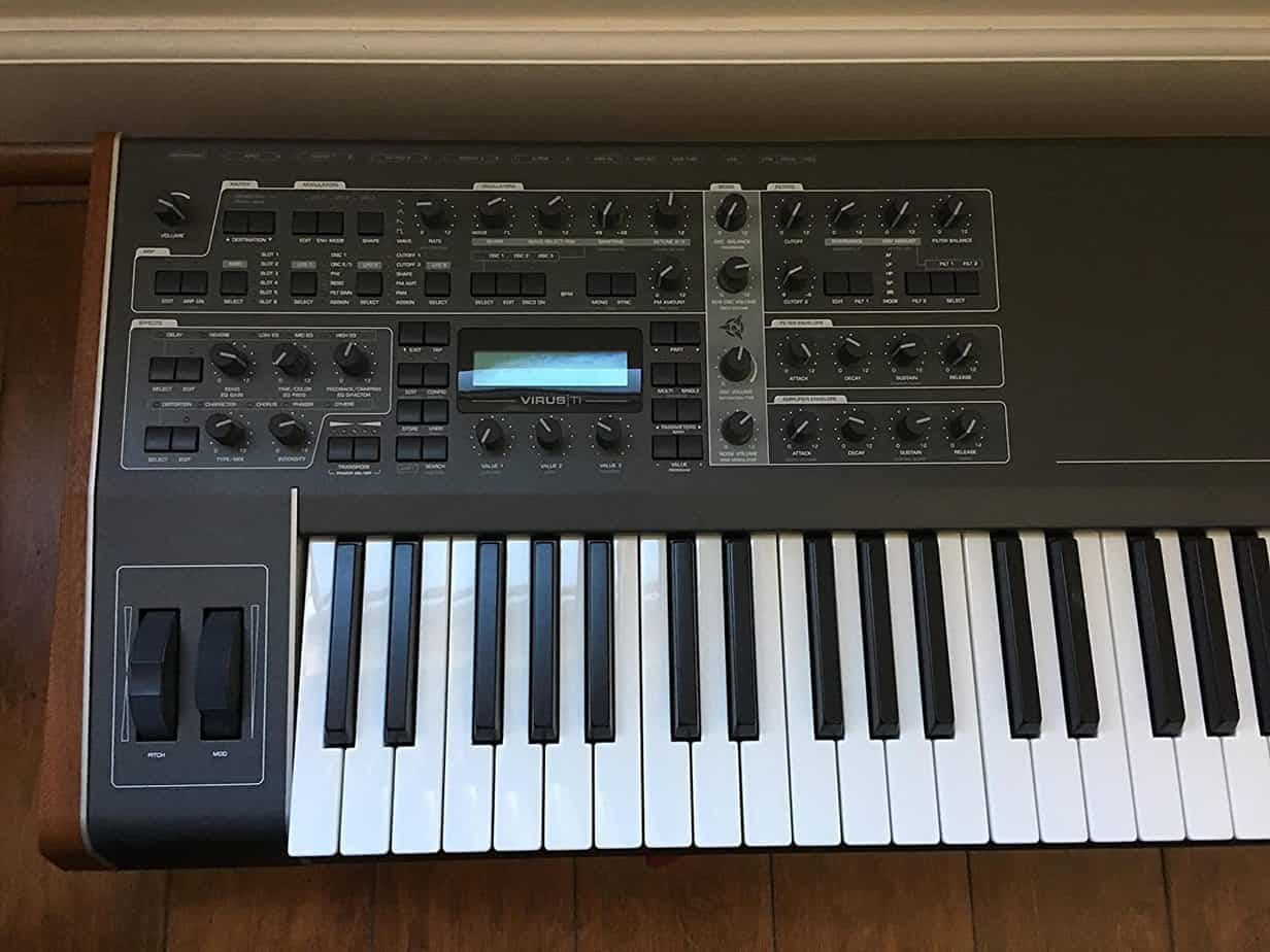 Best synthesizers for house music - Access Virus TI2 Keyboard 61-key Analog Modeling Synthesizer