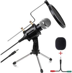 Condenser Microphone for Computer Studio Recording