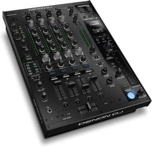 Denon DJ X1850 PRIME – Professional 4 Channel Digital DJ Mixer