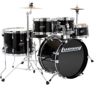 Ludwig Junior Drum Set (5-Piece)