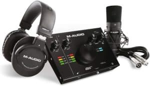 M-Audio – Complete Recording Bundle – USB Audio Interface