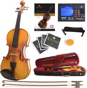 Mendini Solid Wood Violin
