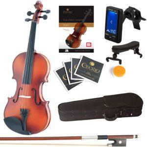 Mendini Wooden Violin
