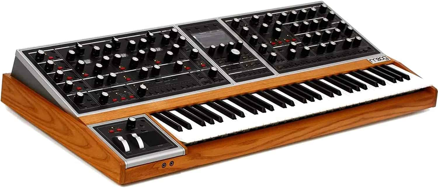 Moog One 16-voice Analog Synthesizer – one of the best synthesizers for ambient music