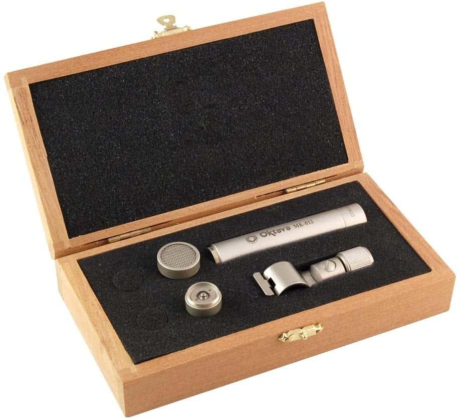 Oktava MK-012-01 Small Diaphragm Condenser, Cardioid Capsule (Silver)