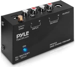 Pyle Phono Turntable Preamp