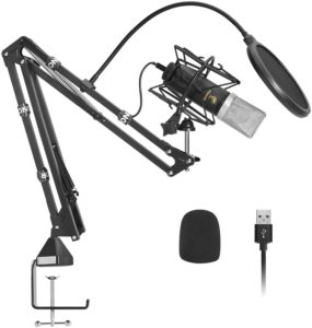 TONOR USB Cardioid Condenser Microphone