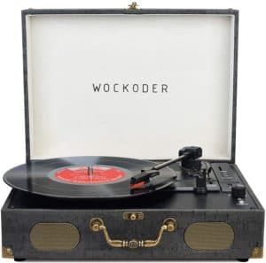 Turntable Record Player by Wockoder