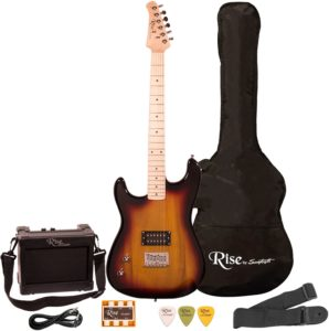 Left-Handed Electric Guitar Kit for Starters