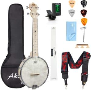 Aklot Banjo 23-inch Remo