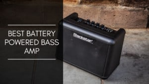 Battery Powered Bass Amp