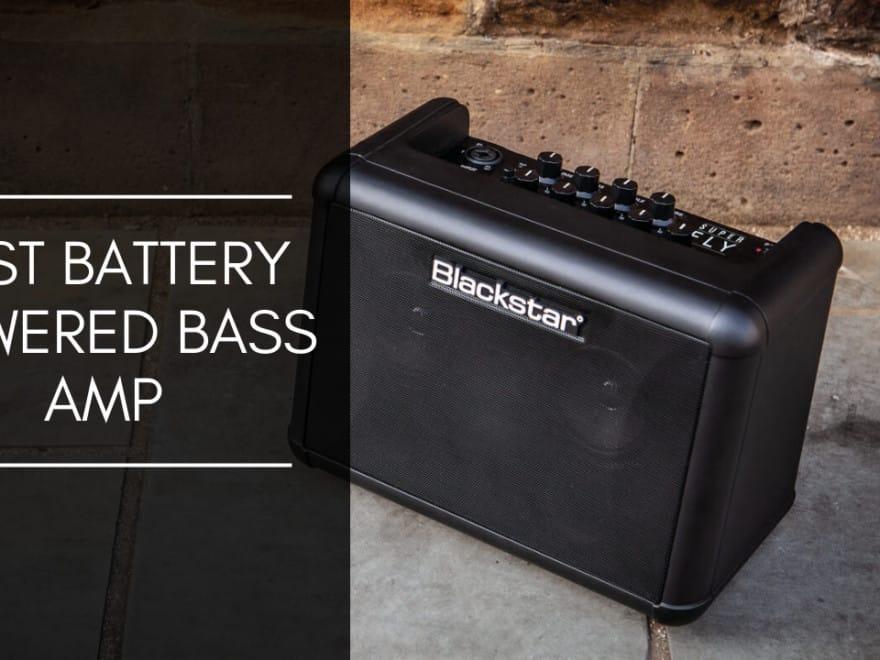 Battery Powered Bass Amp