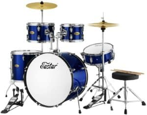 Eastar 22 inches Drum Set Kit Full Size