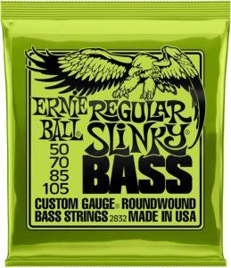Ernie Ball Regular SlinkyBass Set of Nickel Wound