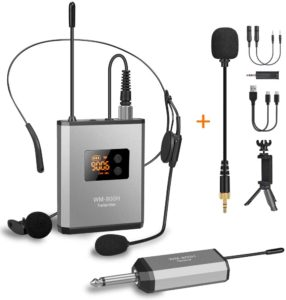 Fansrocck UHF Wireless Microphone System