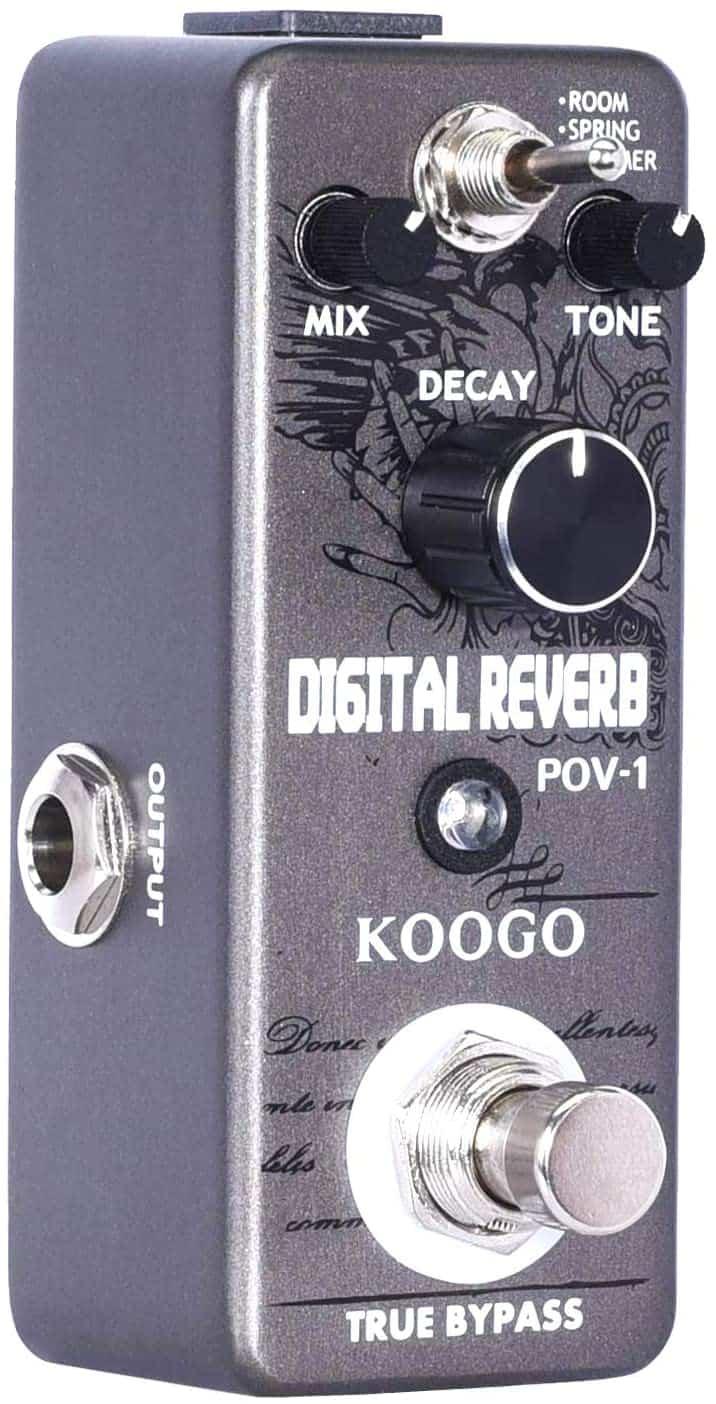 Koogo Bass Reverb Pedal