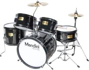 Mendini by Cecilio 16 inch 5-Piece Complete Kids Junior Drum Set
