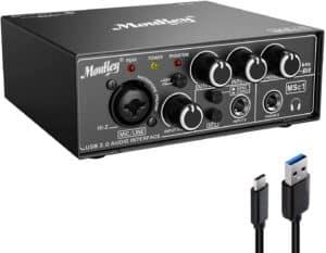 Moukey USB 3.0 Audio Interface