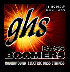Nickel-Plated Electric Bass Strings(Bass Boomers) from GHS Strings
