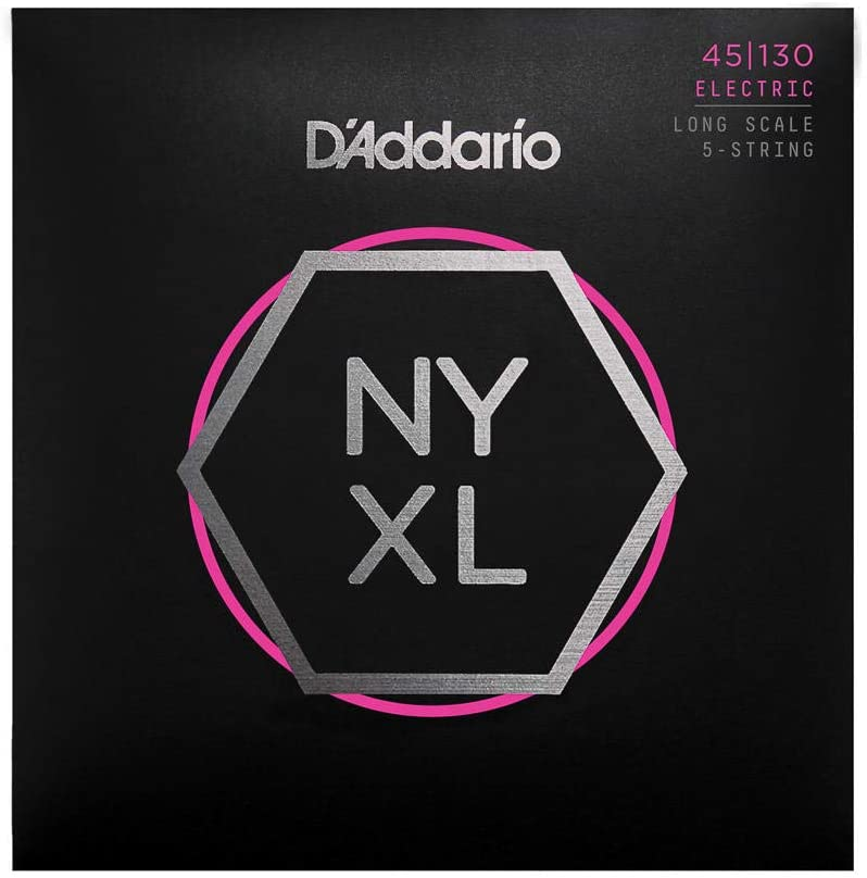 Nickel Wound Bass Guitar Strings from D'Addario NYXL