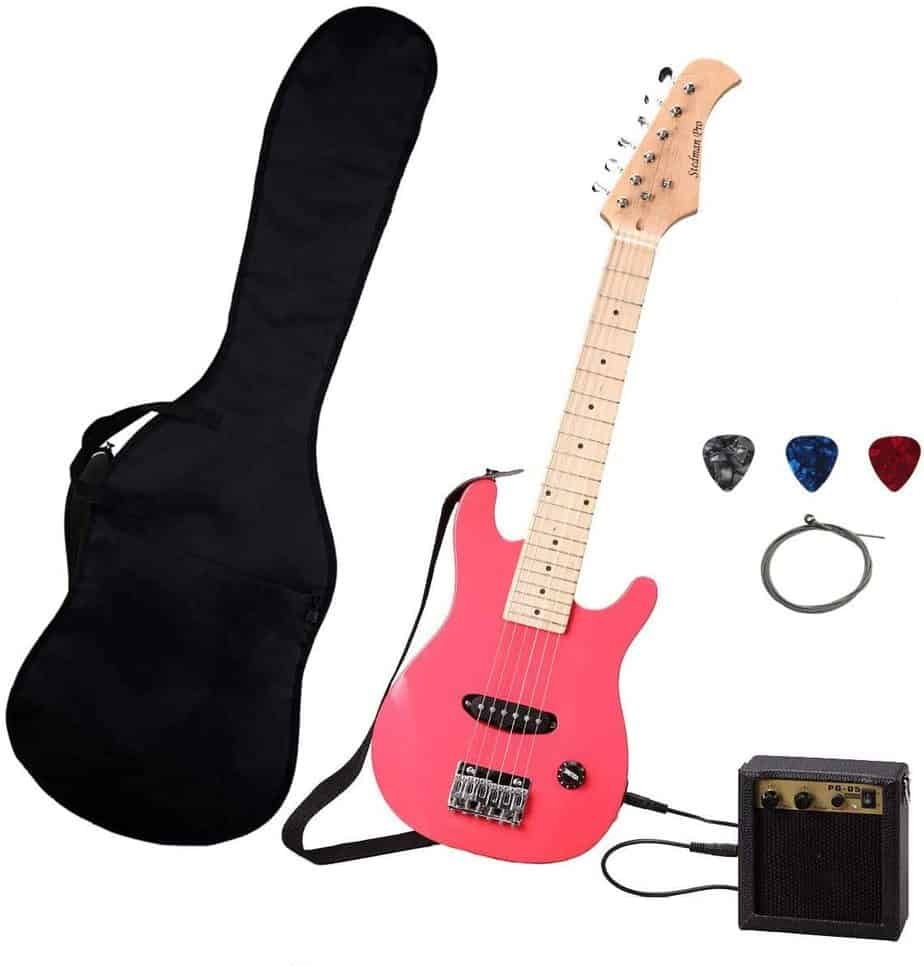 Pink Electric Guitar Pack for Kids