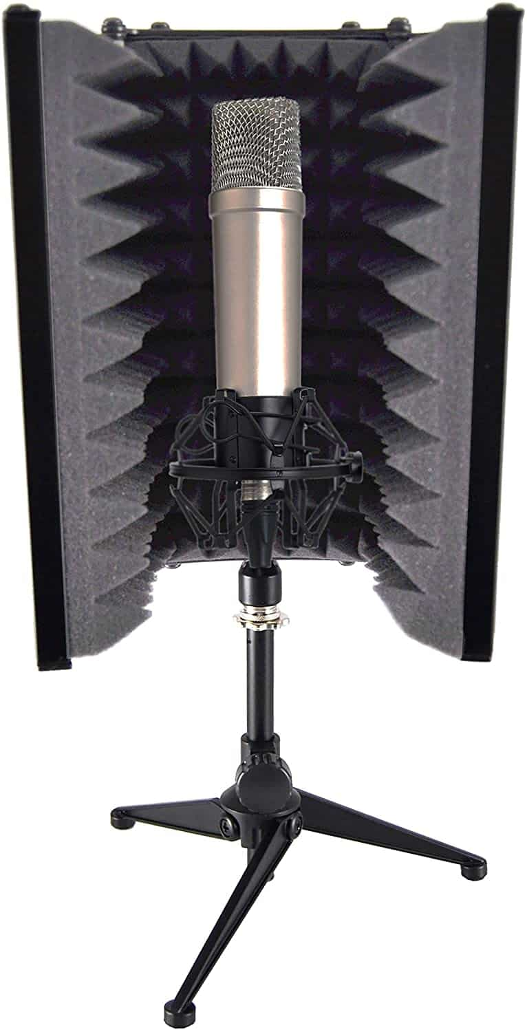 Pyle Sound Isolation Recording Booth Shield
